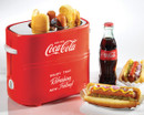 Nostalgia Electrics Pop-Up Hot Dog Toaster |HDT600COKE| Coca Cola Series