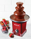 Nostalgia Electrics Chocolate Fondue Fountain |RFF600RETRORED| 50's Style