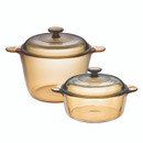 Visions Glass Cookware Set |VS323| 4-pieces