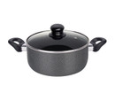 Healthy Bear non-stick Caserole Pot |BCAL20CPG|20cm with Glass Lid