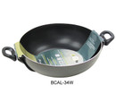 Healthy Bear non-stick Wok |BCAL34W| 34cm