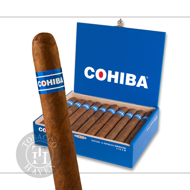 Cohiba - Blue Robusto Cigars, 7 1/2 x 50 (20 Count)