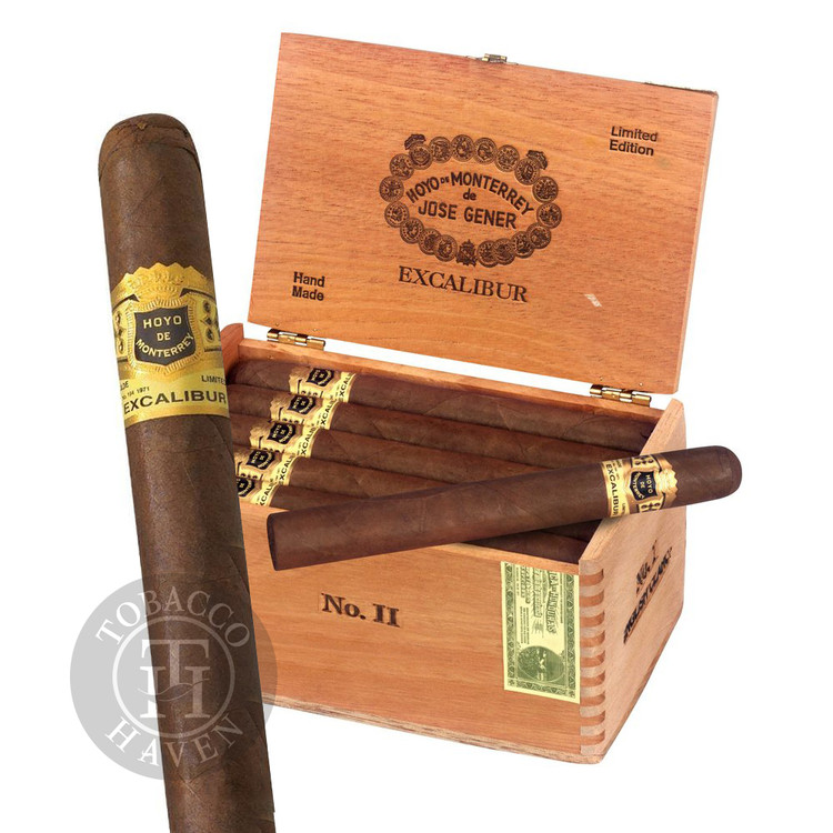 Excalibur  No II - Maduro -  6 3/4 x 47 Cigars (20 Count)