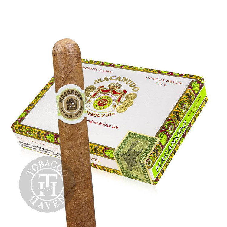 Macanudo - Cafe - Prince of Whales Cigars, 8x52 (25 Count)