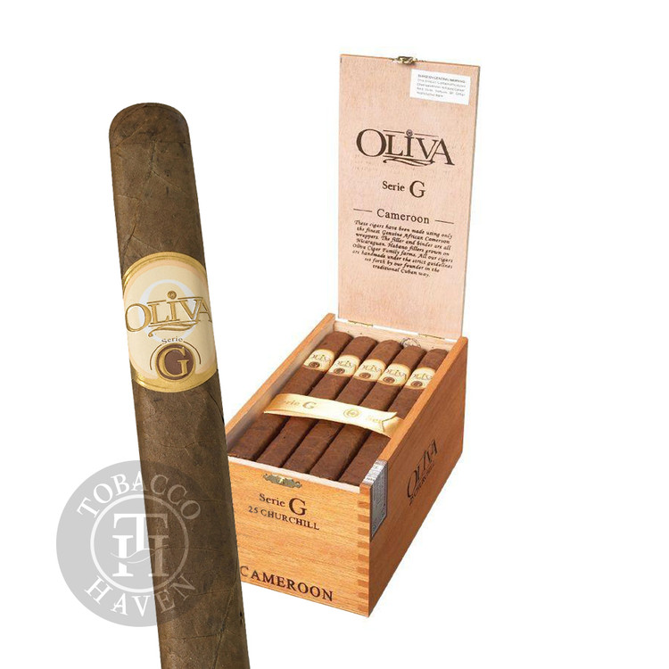 Oliva - Serie G - Double Robusto Cigars, 5x54 (25 Count)