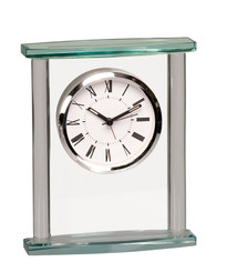 Executive Glass Clock