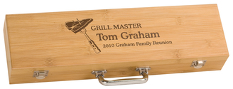 Bamboo Griller's Gift Set