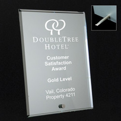 Custom Mirrored Plaque