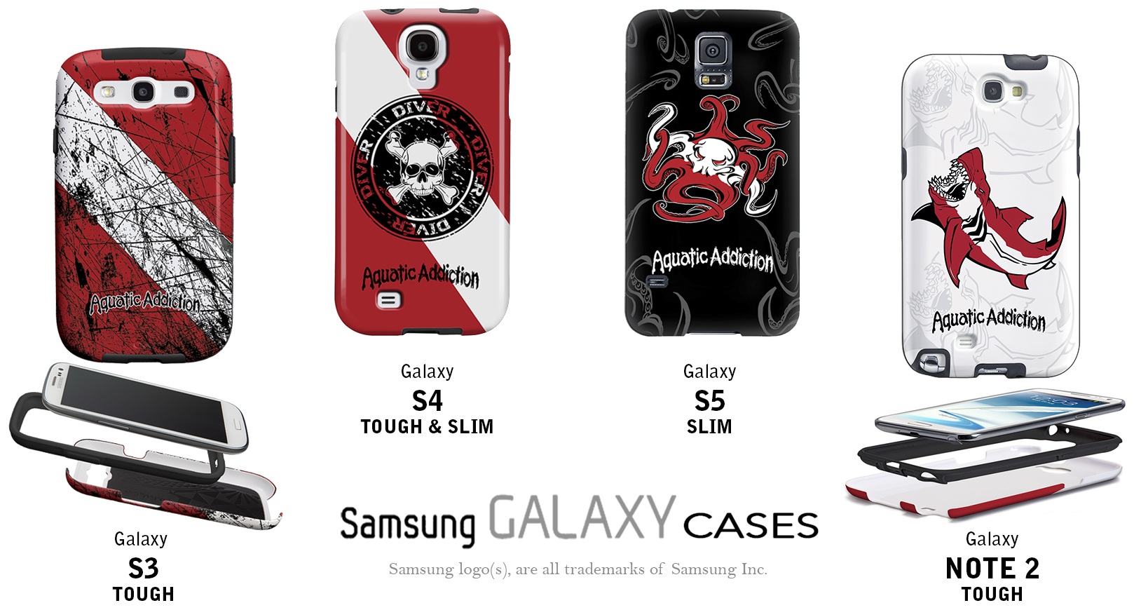 Custom scuba diving samsung galaxy cases designer diving samsung galaxy phone covers - Samsung dive galaxy s3 ...