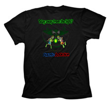 GLOWFISH - BACK - BLACK TEE