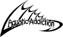 Aquatic Addiction Logo Fishing Decal Sticker