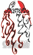 DIVER DOWN JELLYFISH DECAL