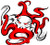 DIVER DOWN OCTO DECAL