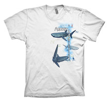 VERTICAL DIVER WHALESHARK - FRONT - WHITE