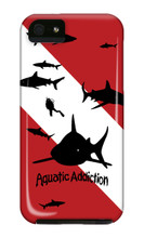 Dive Sharks iPhone Cases