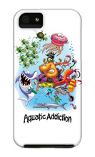 Aquatic Addiction Dive Sometimes You're Just Bait iPhone Cases