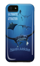 Dive Ultimate Manta iPhone Cases