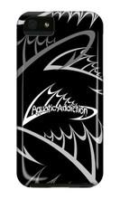 Fishing Logo (black) iPhone Cases