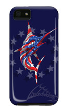 Fishing Painted Marlin iPhone Cases