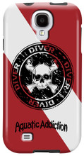 Dive Skull Circle for Samsung Galaxy S3, S4, S5, Note 2 Cases