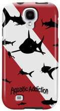 Dive Sharks for Samsung Galaxy S3, S4, S5, Note 2 Cases