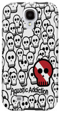 Skullified (white) for Samsung Galaxy S3, S4, S5, Note 2 Cases