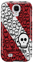 Skullified (red) for Samsung Galaxy S3, S4, S5, Note 2 Cases