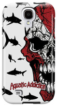 Diver Half Skull (white) for Samsung Galaxy S3, S4, S5, Note 2 Cases