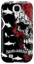 Diver Half Skull (black) for Samsung Galaxy S3, S4, S5, Note 2 Cases