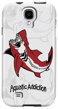 Great White Shark (white) for Samsung Galaxy S3, S4, S5, Note 2 Cases