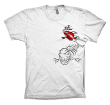 WILD FISH DIVE SHIRT - WHITE