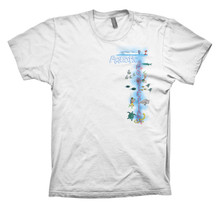AQUATIC ADDICTION DAYTIME DIVER - FRONT - WHITE