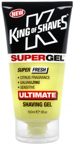 SuperGel Shaving Gel Super Fresh Citrus 150ml