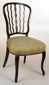 A Set of 6 Magnificent Seddon Chairs - Priced Each, Sold as Set