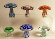 Murano Glass Mushrooms
