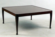 Queen Anne Mahogany Square Low (Coffee) Table