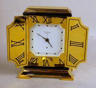 Hour Lavigne Contemporary Brass Alarm Clock