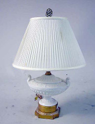 Neoclassical Style Porcelain Lamp