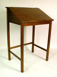 George III Style Mahogany Architects High Desk