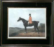 """Hunt Theme Engraved Portrait - """"Daniel Haigh Esquire"""""""
