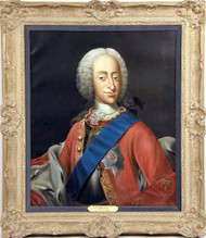 Portrait of King Christian VI of Denmark