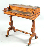 Victorian English Ladies Writing Table