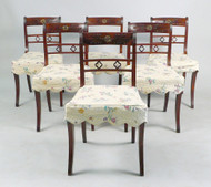 Rosewood Sabre Leg Side Chairs - Priced Each