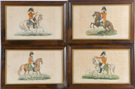 Four 19th Century Framed Prints of English Generals - Priced Each