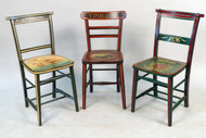 Custom Painted Antique Chairs - Priced Each