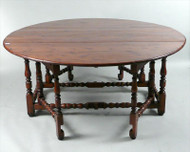 A William and Mary Gate Leg Table