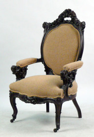 Victorian Carved Ornate Rosewood Chair