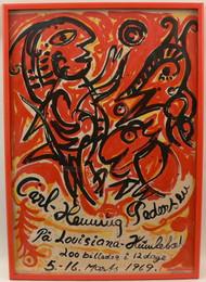 Carl Henning Pedersen Poster
