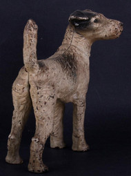 A Hubley Fox Terrier Door Stop