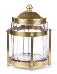 Glass tobacco Jar